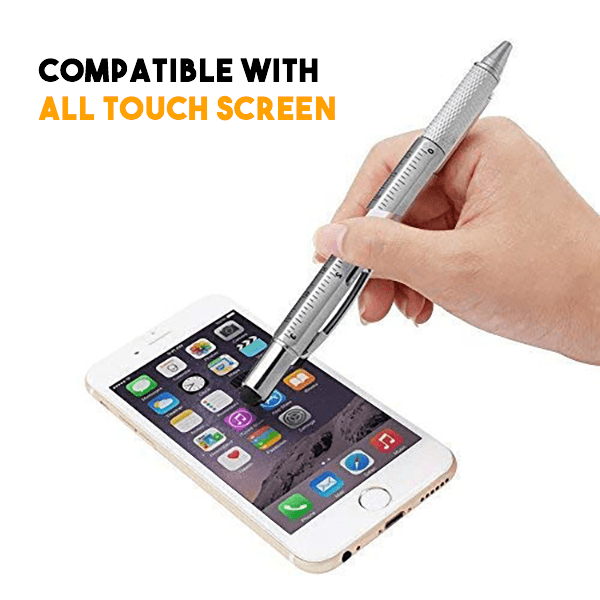 6-IN-1 Multifunction Ballpoint Pen - MEKONGOOD.COM
