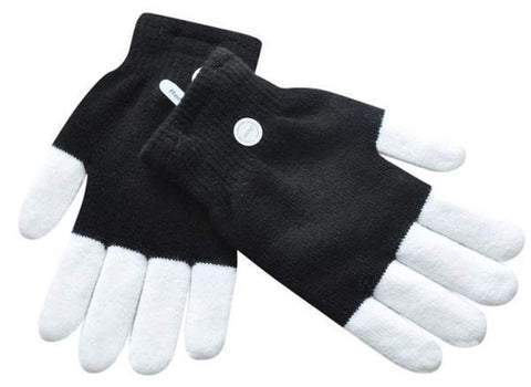 3-Colors/6-Modes LED Gloves Finger Lights - MEKONGOOD.COM