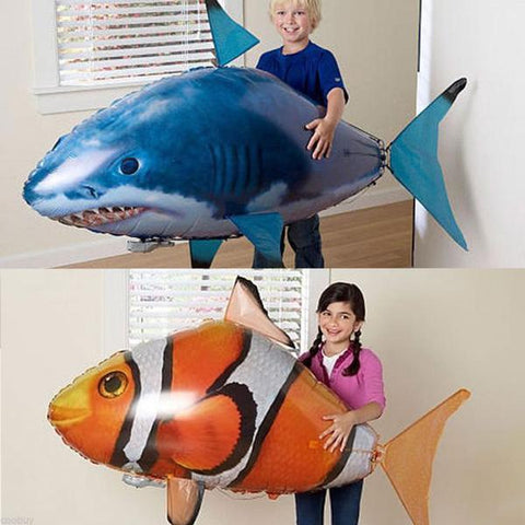 Image of Inflatable Remote Control Flying Air Shark - MEKONGOOD.COM