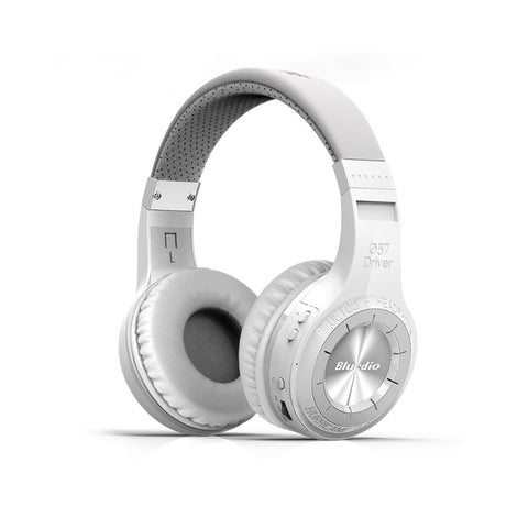 Image of Wireless Bluetooth Headphones With Microphone - White - MEKONGOOD.COM