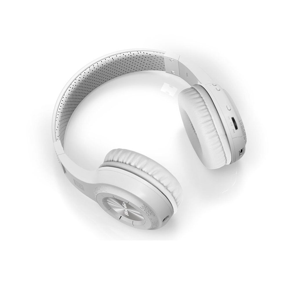 Wireless Bluetooth Headphones With Microphone - White - MEKONGOOD.COM