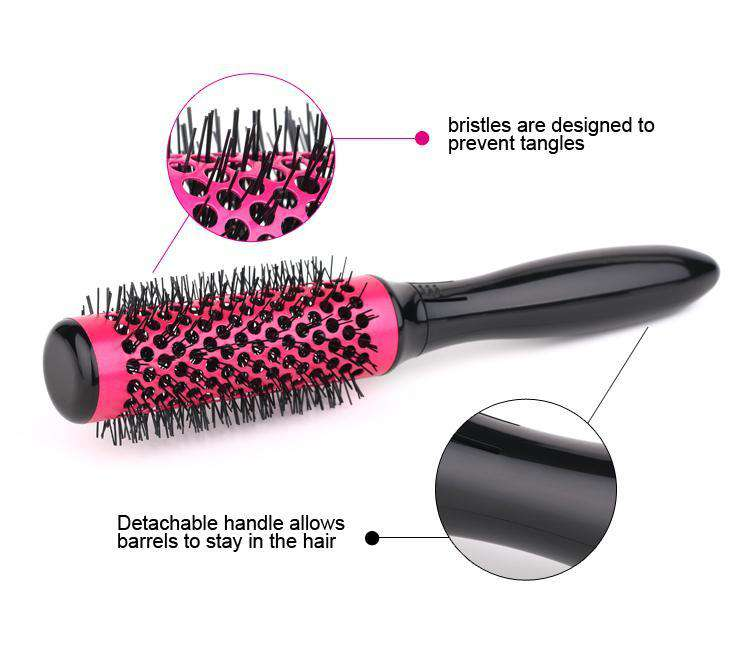 Curl Round Styling Brush Tool Set - MEKONGOOD.COM