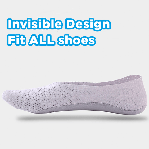 Image of Invisible Ice Silk Socks (Set of 5) - MEKONGOOD.COM