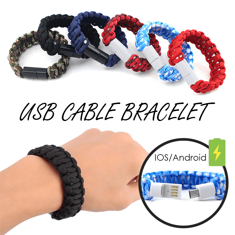USB Cable Bracelet - MEKONGOOD.COM