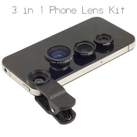 Image of 3 in 1 Phone Lens Kit - MEKONGOOD.COM