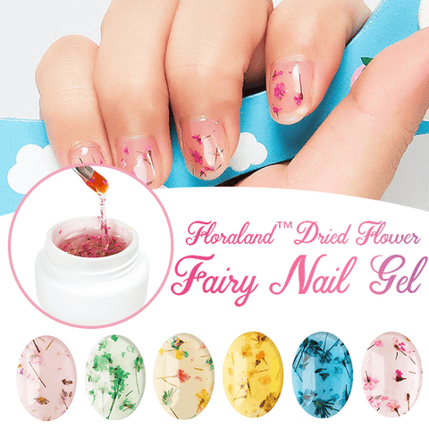 Image of Floraland™ Dried Flower Fairy Nail Gel - MEKONGOOD.COM