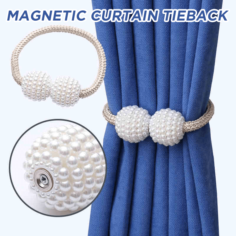 Magnetic Curtain Tieback (2PCS) - MEKONGOOD.COM