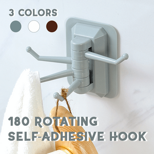 180° Rotating Self-Adhesive Hook - MEKONGOOD.COM