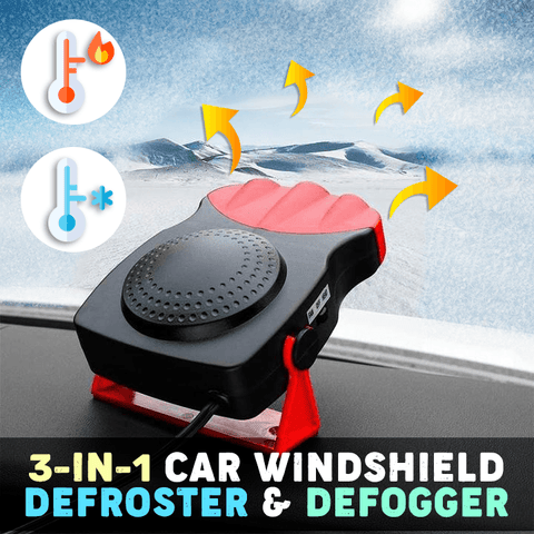 3-in-1 Car Windshield Defroster & Defogger - MEKONGOOD.COM