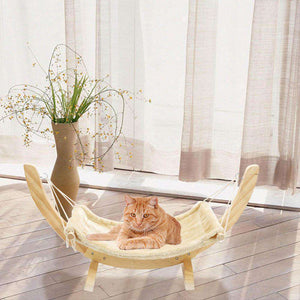 Cat Hammock Wooden - MEKONGOOD.COM