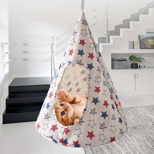 Hanging Cat Hammock - MEKONGOOD.COM