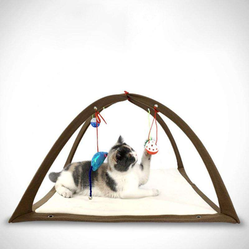 Cat Hammock with Toys - MEKONGOOD.COM
