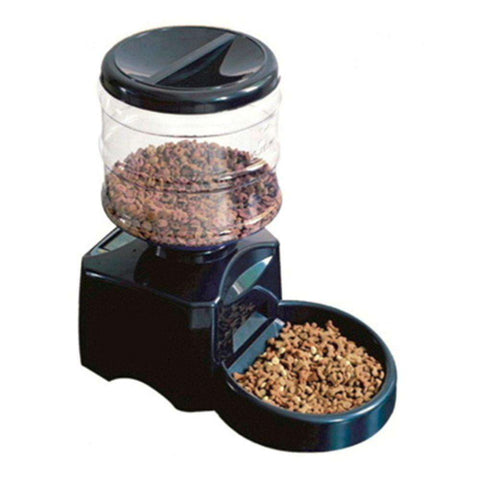 5.5L Automatic Pet Feeder With Voice Message Recording And LCD Screen