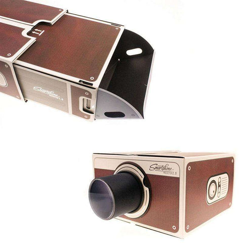 Image of DIY Cardboard Cinema - MEKONGOOD.COM