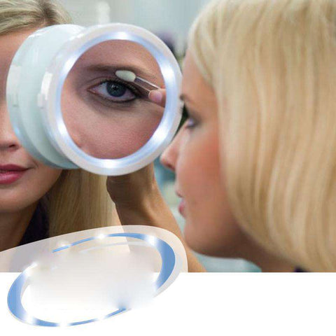 Image of 360 LED Magnifying Mirror - MEKONGOOD.COM