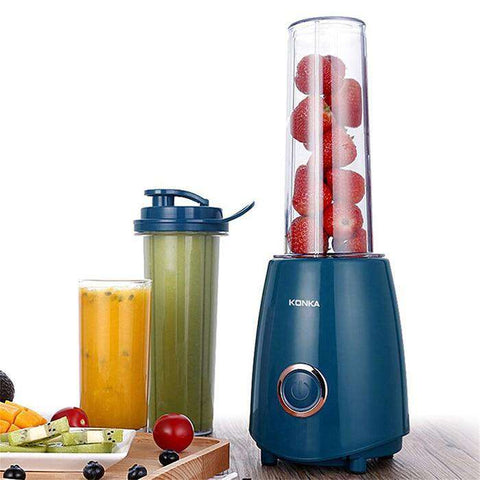 Image of 300W Electric Juicer Blender with Two Bottle Juice Vegetables Fruit Milkshake Mixer - MEKONGOOD.COM