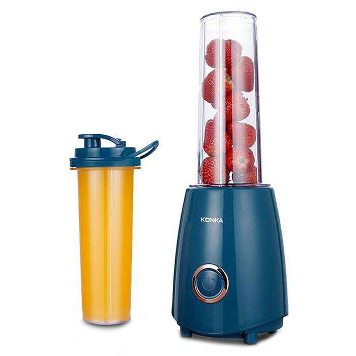 300W Electric Juicer Blender with Two Bottle Juice Vegetables Fruit Milkshake Mixer - MEKONGOOD.COM