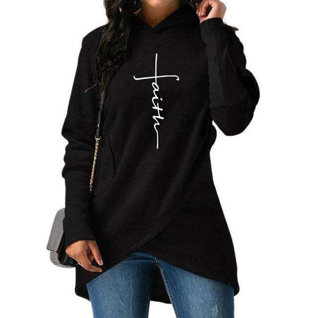 Asymmetric Faith Hoodie - MEKONGOOD.COM
