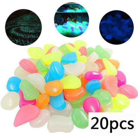 Glow In The Dark Pebbles - MEKONGOOD.COM