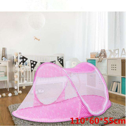 Image of Baby Bed with Nets - MEKONGOOD.COM
