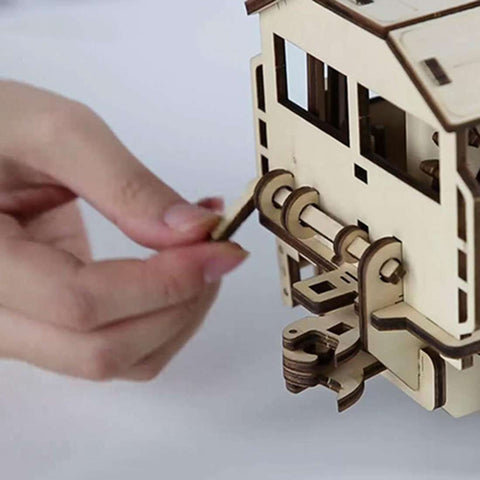 Image of 3D Train Puzzle - MEKONGOOD.COM