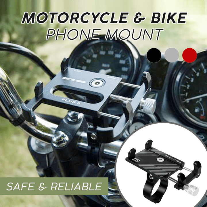 Motorcycle & Bike Phone Mount - MEKONGOOD.COM