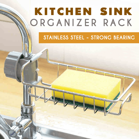 Kitchen Sink Organizer Rack - MEKONGOOD.COM