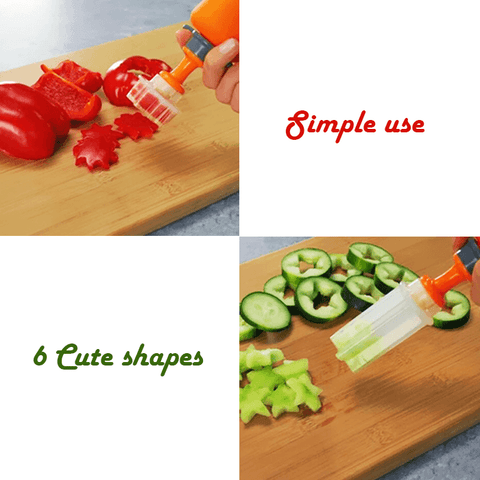 Image of Vegetable & Fruit Shape Pop Cutter - MEKONGOOD.COM