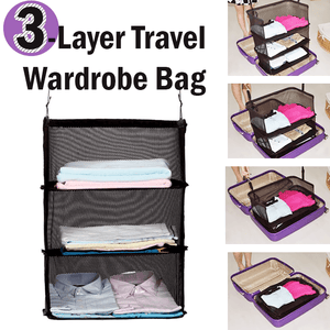 3-Layer Travel Wardrobe Bag - MEKONGOOD.COM