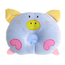 Load image into Gallery viewer, Newborn Pillow Baby Positioner Infant Prevent Pig Pattern Figure Head Pillows House Bedding Soft Sleeping Positioner