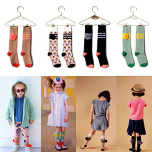 Load image into Gallery viewer, Baby Girl Knee High Socks Infantil Menina Kids School Socks Wolf Rita Brand Toddler Boys Socks Children Chaussettes Enfants