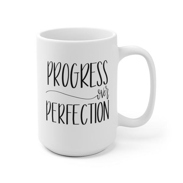 Progress over Perfection Mug | Mugs for Women at The Nelson Company