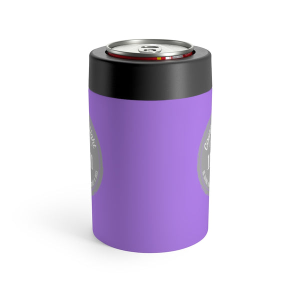 Courtney's Light Logo Can Holder - Purple