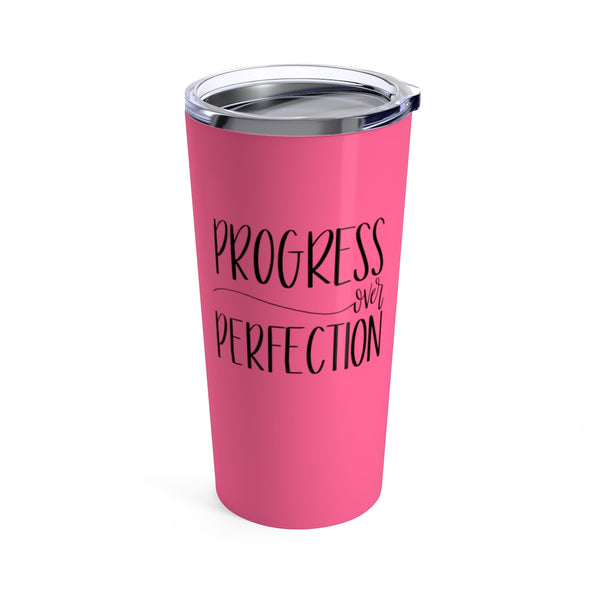 Progress over Perfection Tumbler | Travel Mugs for Women at The Nelson Company