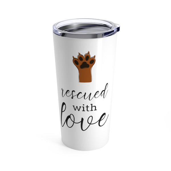 Rescued with Love Tumbler | Gifts for Dog Moms at The Nelson Company