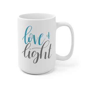 Love & Light Mug | Holiday Drinkware at The Nelson Company