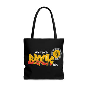 Writer's Block Ink Tote Bag