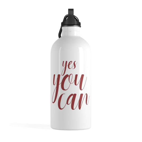The Yes You Can Water Bottle | Motivational Water Bottles at The Nelson Company