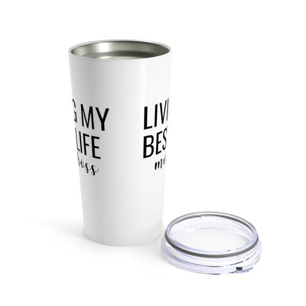 Living My Best Life Tumbler | Mom Boss Travel Mugs at The Nelson Shop