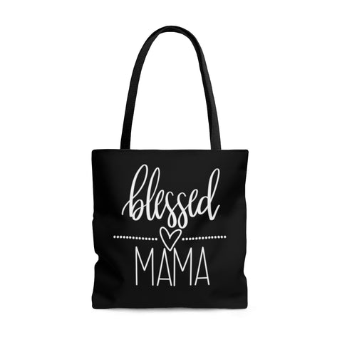 Blessed Mama Tote | Large Tote Bags at The Nelson Company