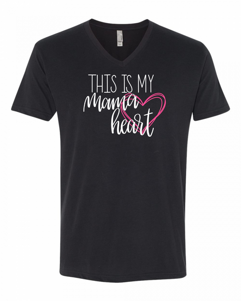 This Is My Mama Heart | Mommy and Me Shirts at The Nelson Company