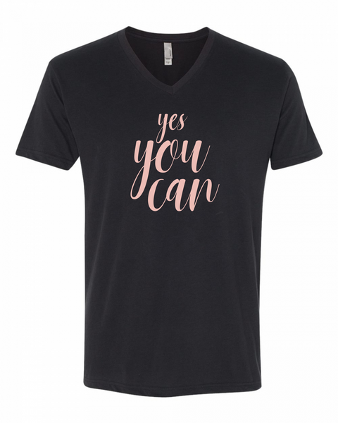 Inspirational T Shirts | Yes You Can