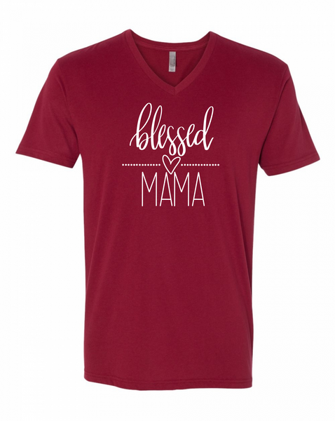 Blessed Mama Vee | Mom Life Shirts at The Nelson Company