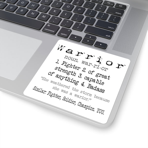 Warrior Definition | Courtney's Stickers