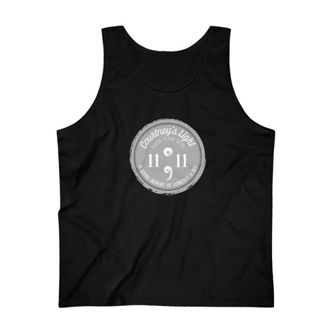 Courtney's Light Logo Cotton Tank Top