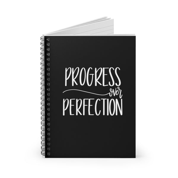 Progress over Perfection Notebook | Gifts with Positive Quotes at The Nelson Company