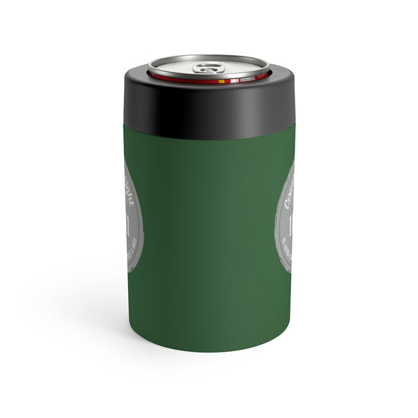 Courtney's Light Logo Can Holder - Green