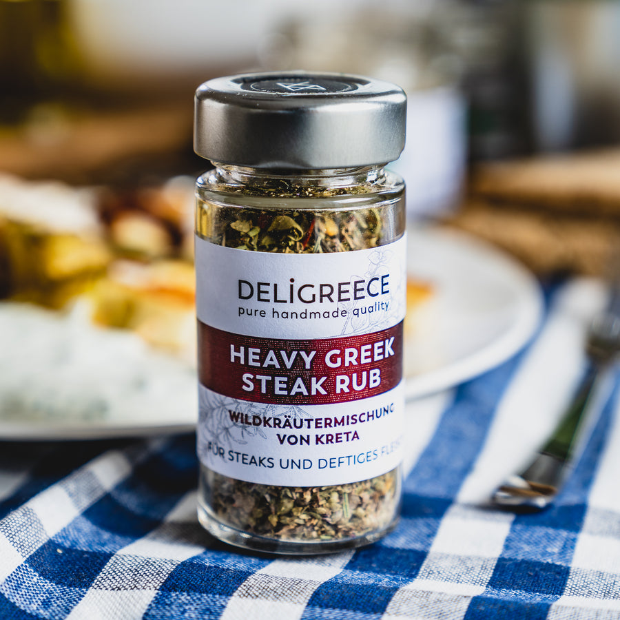 Heavy Greek Steak Rub