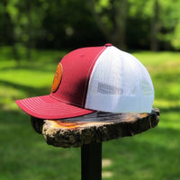 Maroon Patch Hat