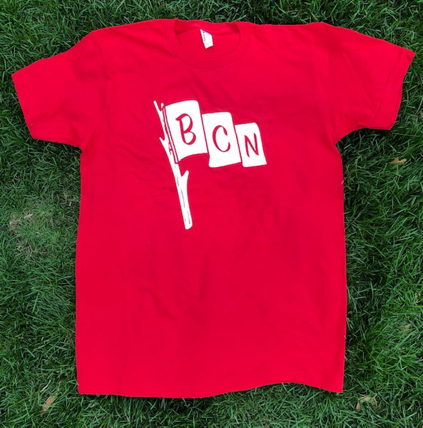 BCN Flag Acronym T-Shirt - Red